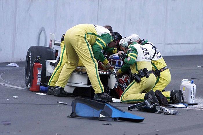 Indy Car Crash Lost His Legs