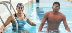 Olympians Shivani Kataria, Sajan Prakash Break National Swimming Records
