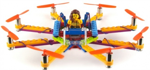 Building Drones From Legos Is A Real Thing And This Company Will Help You Do It!