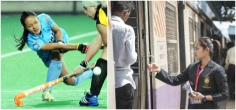 From Leading The Indian Hockey Team To Collecting Train Tickets, Here's The Story Of Sushila Chanu