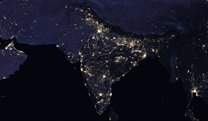 nasa releases map of india on diwali night - photo #20