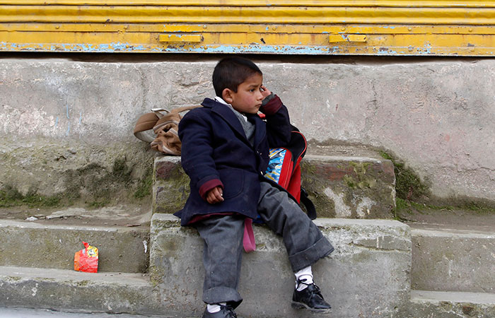 Kashmir School Kid