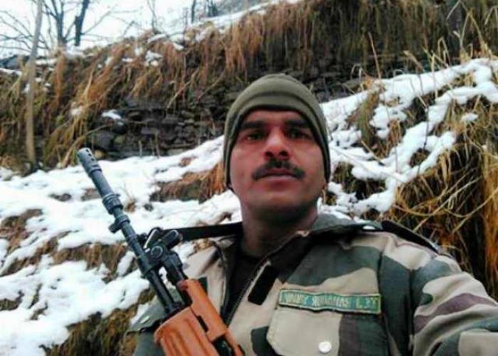 BSF Jawan Tej Bahadur