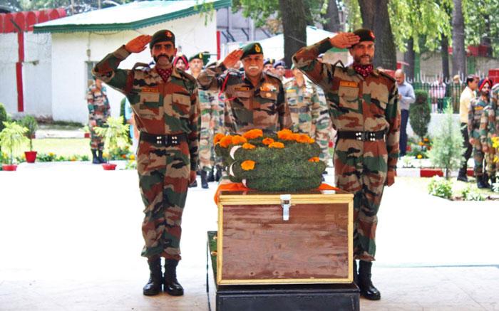 Kashmir Gun Battle