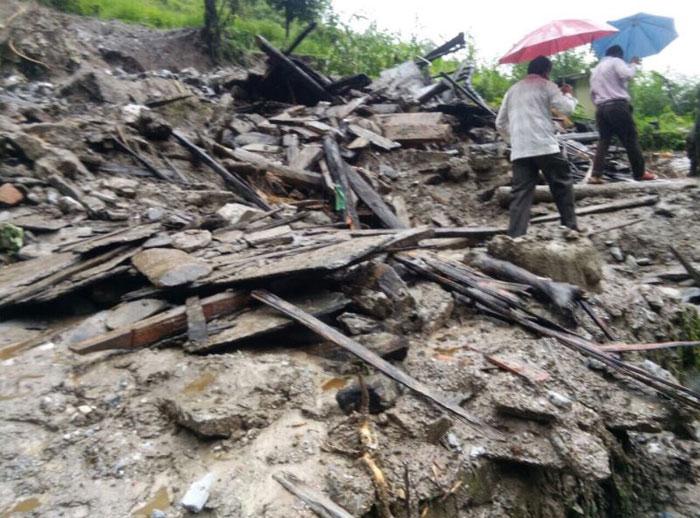 Landslide In Mandi
