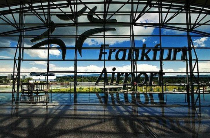 Frankfurt Airport Baby Room
