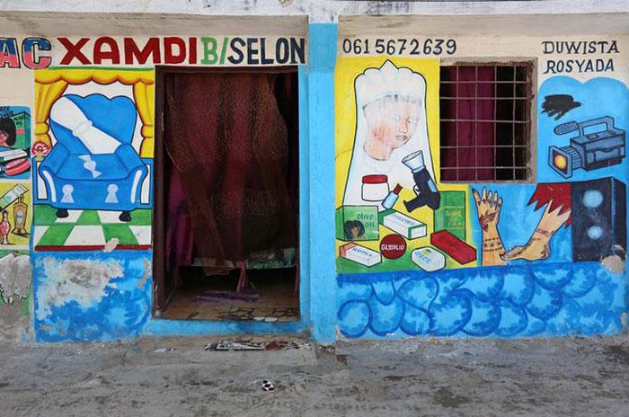 Somalian Mural Shik Shik Art