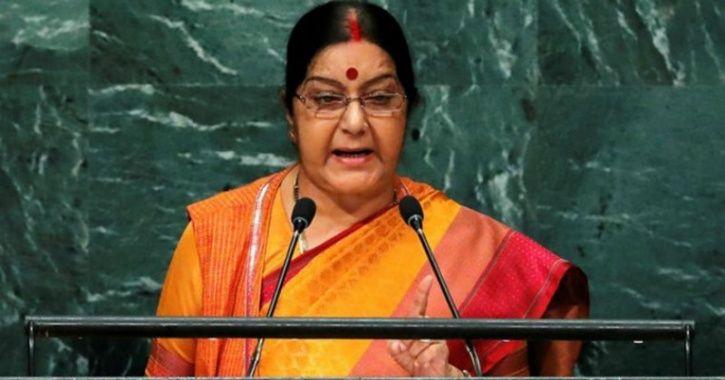 SushmaswarajMosul