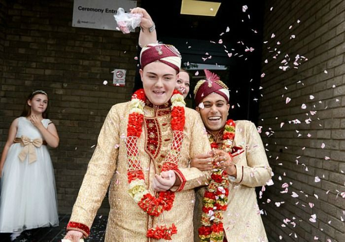 same-sex Muslim wedding