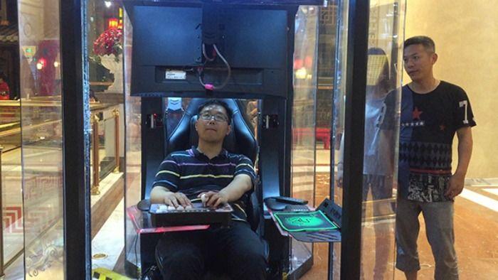 human rest booths