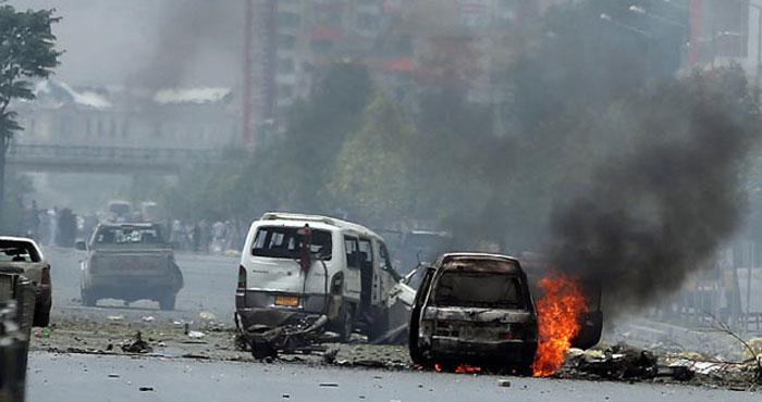 Afghanistancar Blast