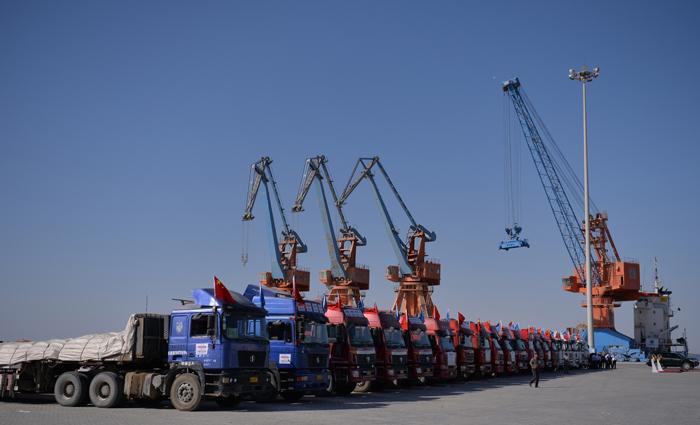 India China Transit Hub