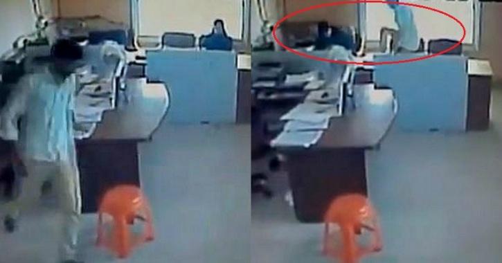 man kicks fasting Muslim woman