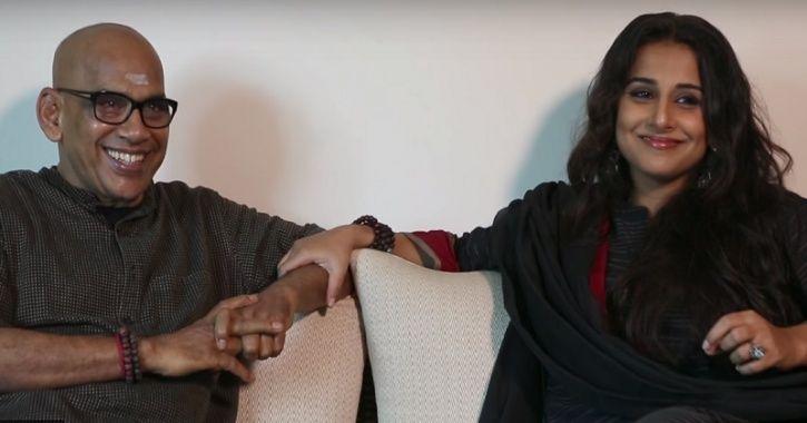 Vidya Balan with her father