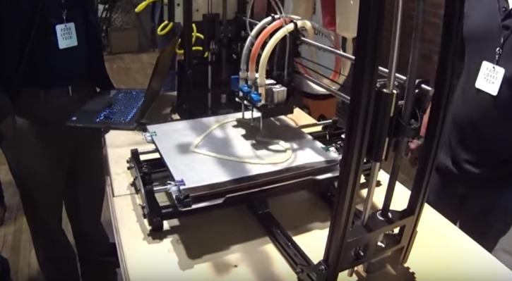 s3d printer pizza nasa - photo #23