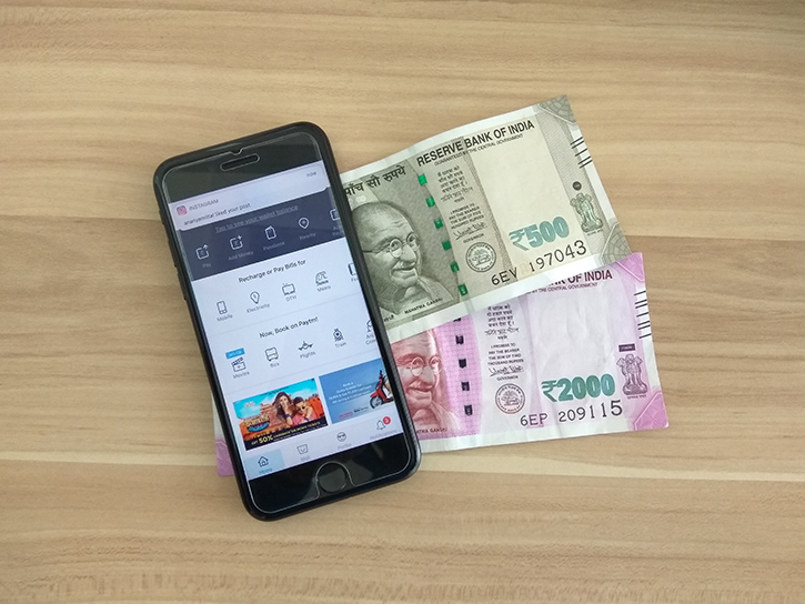 Making cash from Paytm