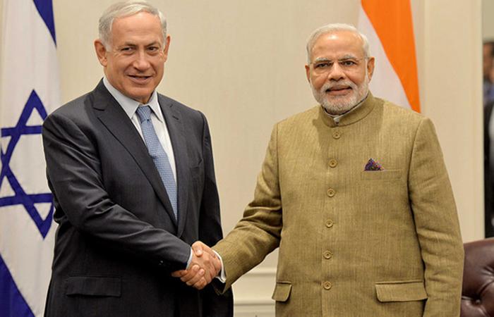 Image result for pm modi israel visit indiatimes