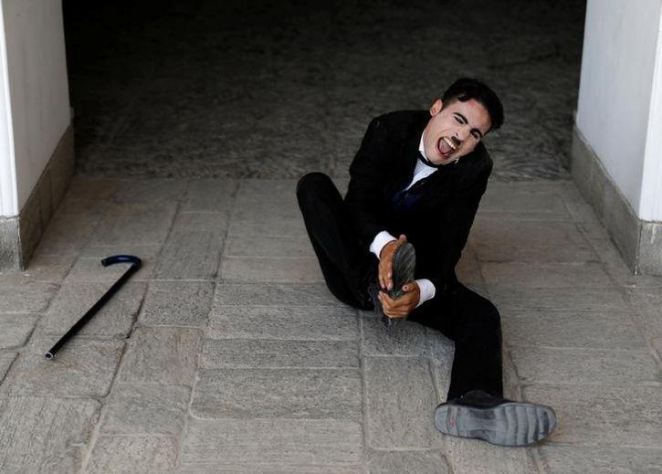 Charlie Chaplin Of Afghanista