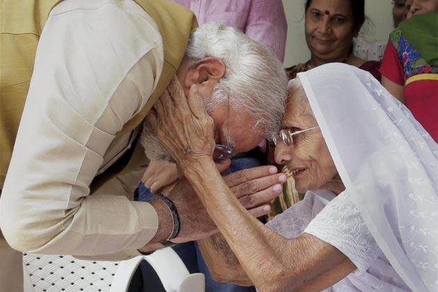 PM Narendra Modi Skips Yoga To Meet Mother, Hilarity Ensues On Twitter