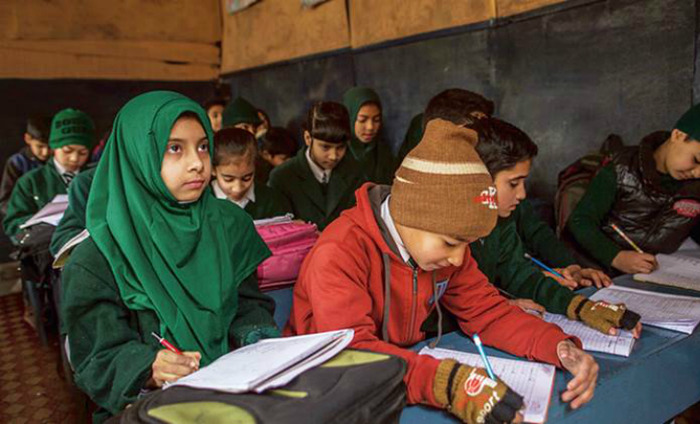 Schools Reopen In Kashmir After 8 Months