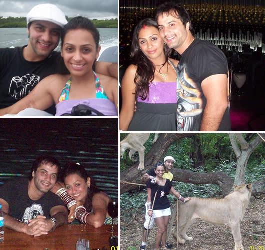 Ashita Dhawan And Shailesh Gulabani Private Moments Of Rea...