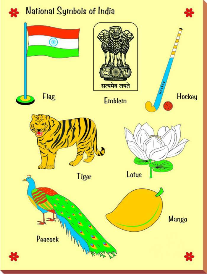 National Symbols Coloring Pages