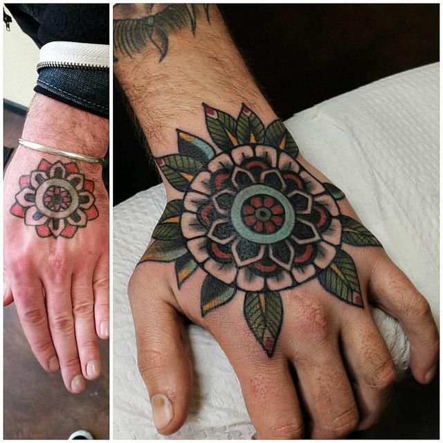 Risk seem hand job tattoo pity