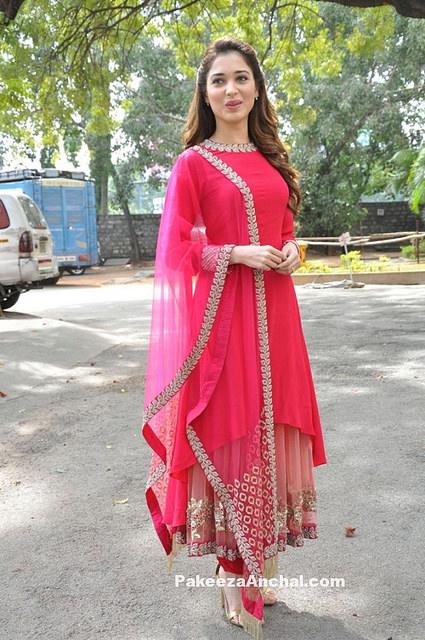 Tamanna Bhatia - Tamanna Bhatia in pink dress march 2016 pics (24 ...