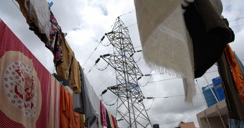 Woman Dies After Being Pulled Up By High Tension Wire While Throwing A Nappy Off The Roof