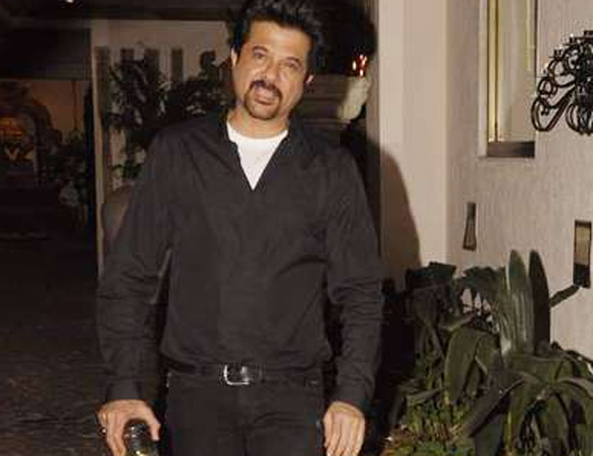 Anil Kapoor's birthday party was held at his Juhu residence in Mumbai on December 24, 2011.