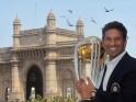 Sachin Tendulkar poses