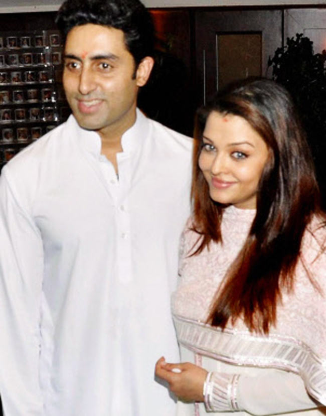 Aishwarya post her delivery!