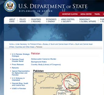 At a time when incorrect India maps are surfacing everywhere, from Google to company brochures, here is a reality check for India's strategic community: the official website of the US department of state, which handles foreign relations, shows PoK as part of Pakistan, notwithstanding India's claim over the region. The map differs from the official Indian map in that it ignores India's claim on Pakistan-occupied Kashmir by not even acknowledging its disputed status. Although the US removed from the website the map, but it was enough to stoke the Kashmir fire again in diplomatic circles.