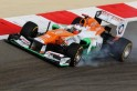 The Bahrain F1 Grand Prix was held without disruption, isolated from the country's severe political unrest.