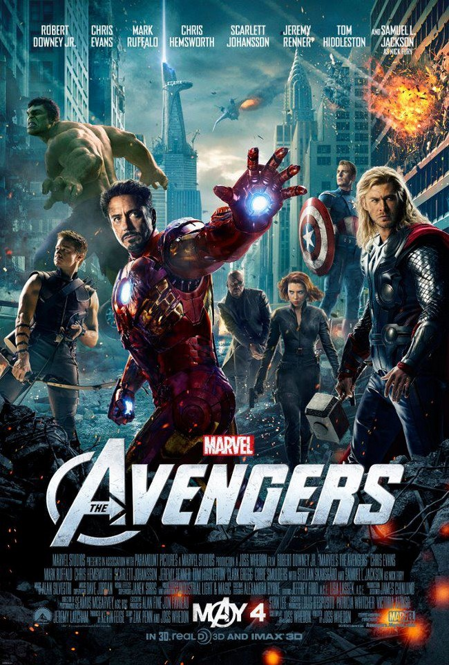 The Avengers...All in one-The films opens in India on April 27, 2012, while the North American release is scheduled for May 04, 2012.
