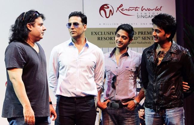 Sajid Khan, Akshay Kumar, Shreyas Talpade, Riteish Deshmukh