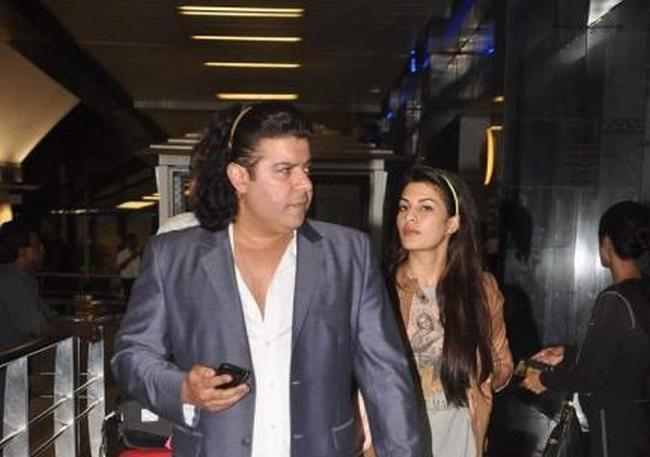 Sajid Khan and Jacqueline may be silent about their romance, but this picture at the airport (returning from Singapore) surely speaks a thousand words.