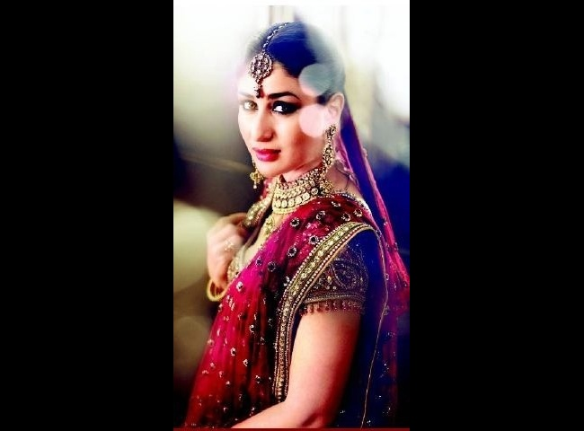 The bridal look for a jewellery campaign.