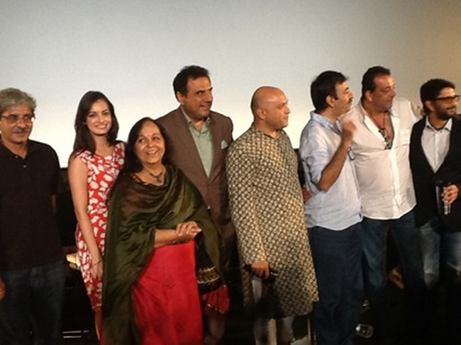 Team Munnabhai reunites at the Vidu Vinod Chopra Film Festival