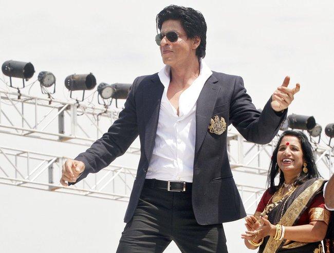 Shah Rukh Khan at Prayag Film City