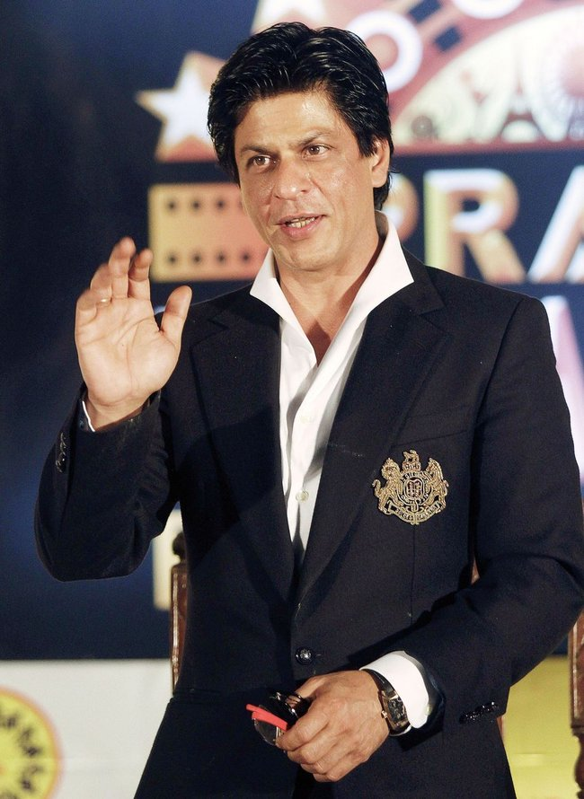 Shah Rukh Khan at Prayag Film City