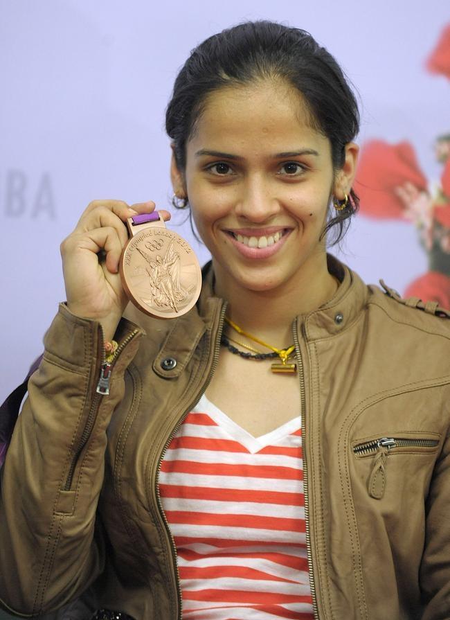 India welcomes Saina