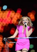 The Spice Girls' Emma Bunton performs du