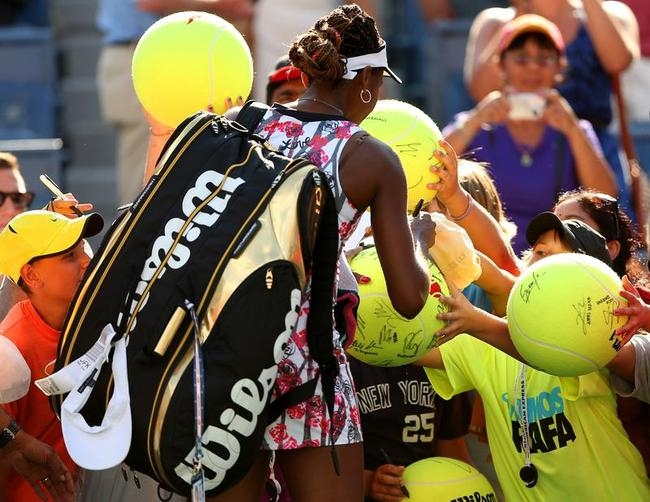 Colourful Venus Williams