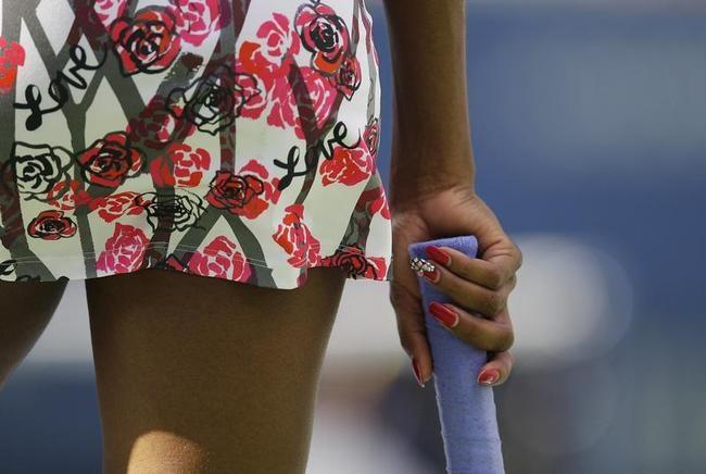Colourful Venus Williams