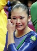 Brazilian gymnast Harumy Mariko de Freitas