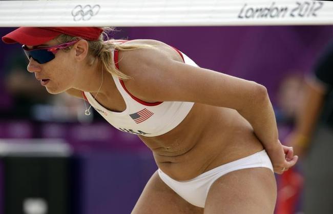 Secret language @ Olympic beach volleyball