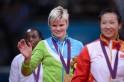 Slovenia's gold medalist Urska