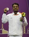 India's silver boy