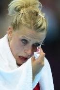Denmark's leftwing Ann Grete Norgaard